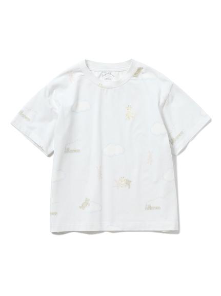 【KIDS】ドリームアニマル kids ボーイズTシャツ(BLU-XXS)