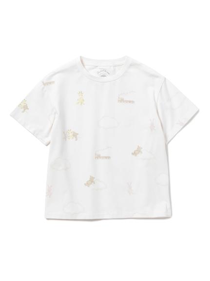 【KIDS】ドリームアニマル kids ガールズTシャツ(PNK-XXS)