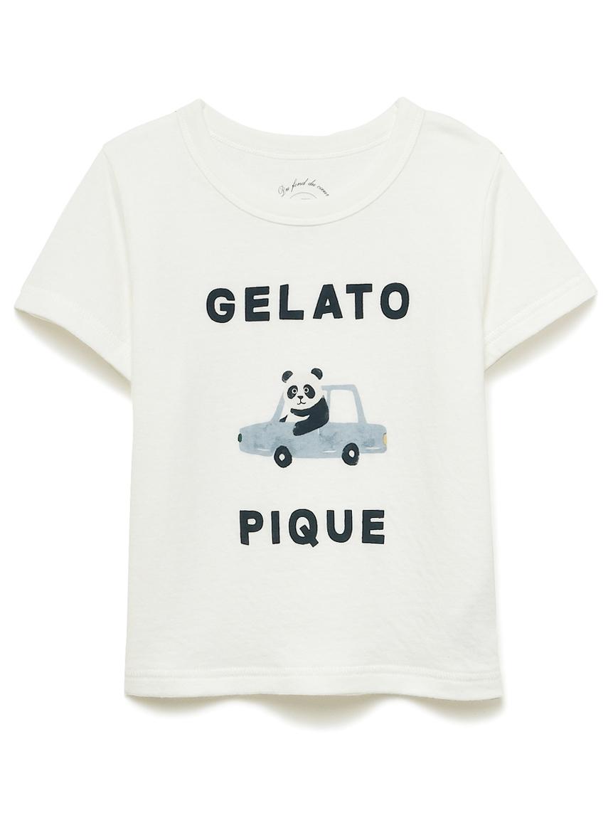 【KIDS】くるまモチーフワンポイント kids Tシャツ