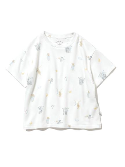 【KIDS】モーニングベア kids Tシャツ(OWHT-XXS)
