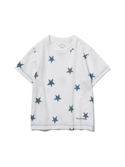 【KIDS】スターモチーフ kids Tシャツ(NVY-XXS)