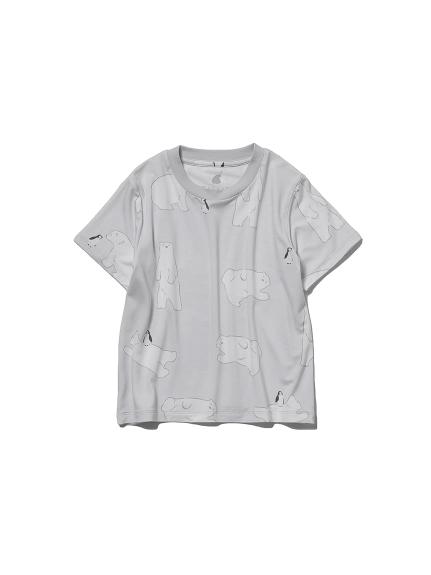 【KIDS】【COOL FAIR】シロクマモチーフ kids Tシャツ