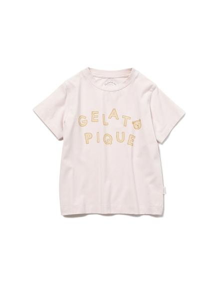 【KIDS】 クッキーロゴ kids Tシャツ(PNK-XXS)