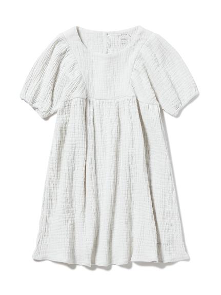 【KIDS】マシュマロガーゼ kids ドレス
