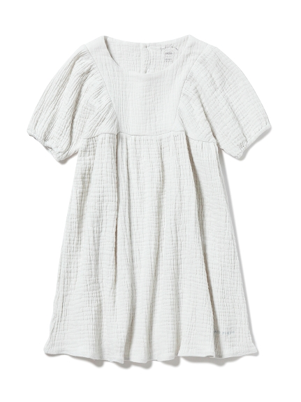 【KIDS】ガーゼ kids ドレス(MNT-XXS)