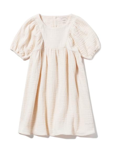 【KIDS】ガーゼ kids ドレス(BEG-XXS)