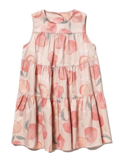 フルーツモチーフ kids ドレス