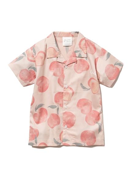 フルーツモチーフ kids シャツ