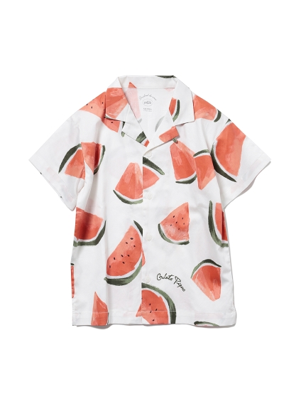 【KIDS】フルーツアロハモチーフ kids シャツ