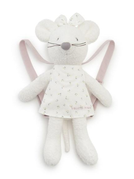 【KIDS】'ベビモコ'ネズミ kids リュック(OWHT-F)