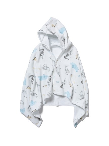 【KIDS】【旭山動物園】 kids フード付きタオル