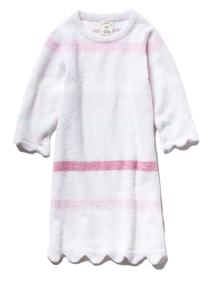 【KIDS】'スムーズィー'5ボーダー kids ドレス(PNK-XXS)