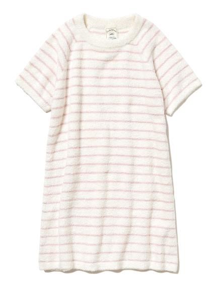 'スムーズィー'ピンボーダー kids ドレス(PNK-XXS)