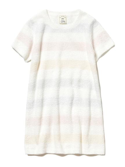 'スムーズィー'カラフルボーダー kids ドレス(PASTEL-XXS)