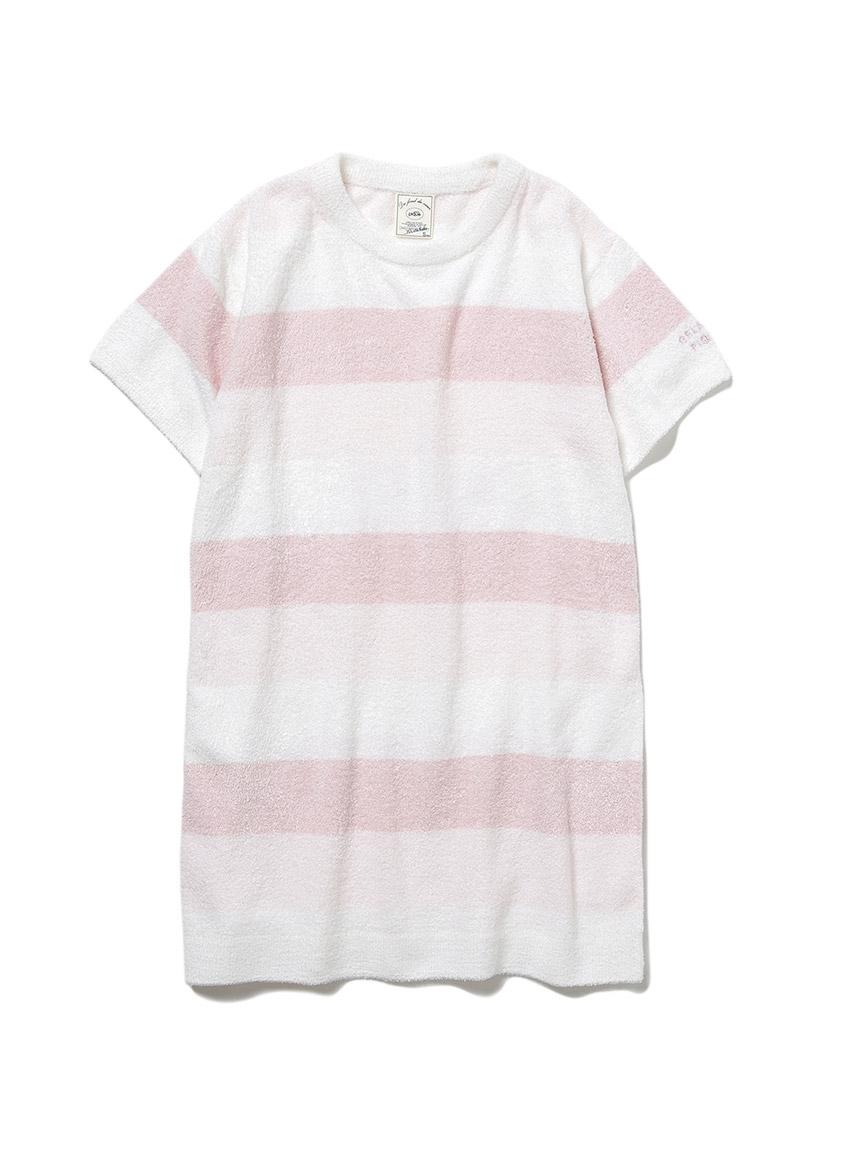 【KIDS】 リサイクル'スムーズィー'3ボーダー kids ドレス(PNK-XXS)