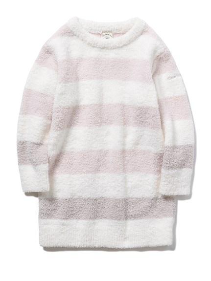 【KIDS】パウダートリムボーダー kids ドレス(PNK-XXS)