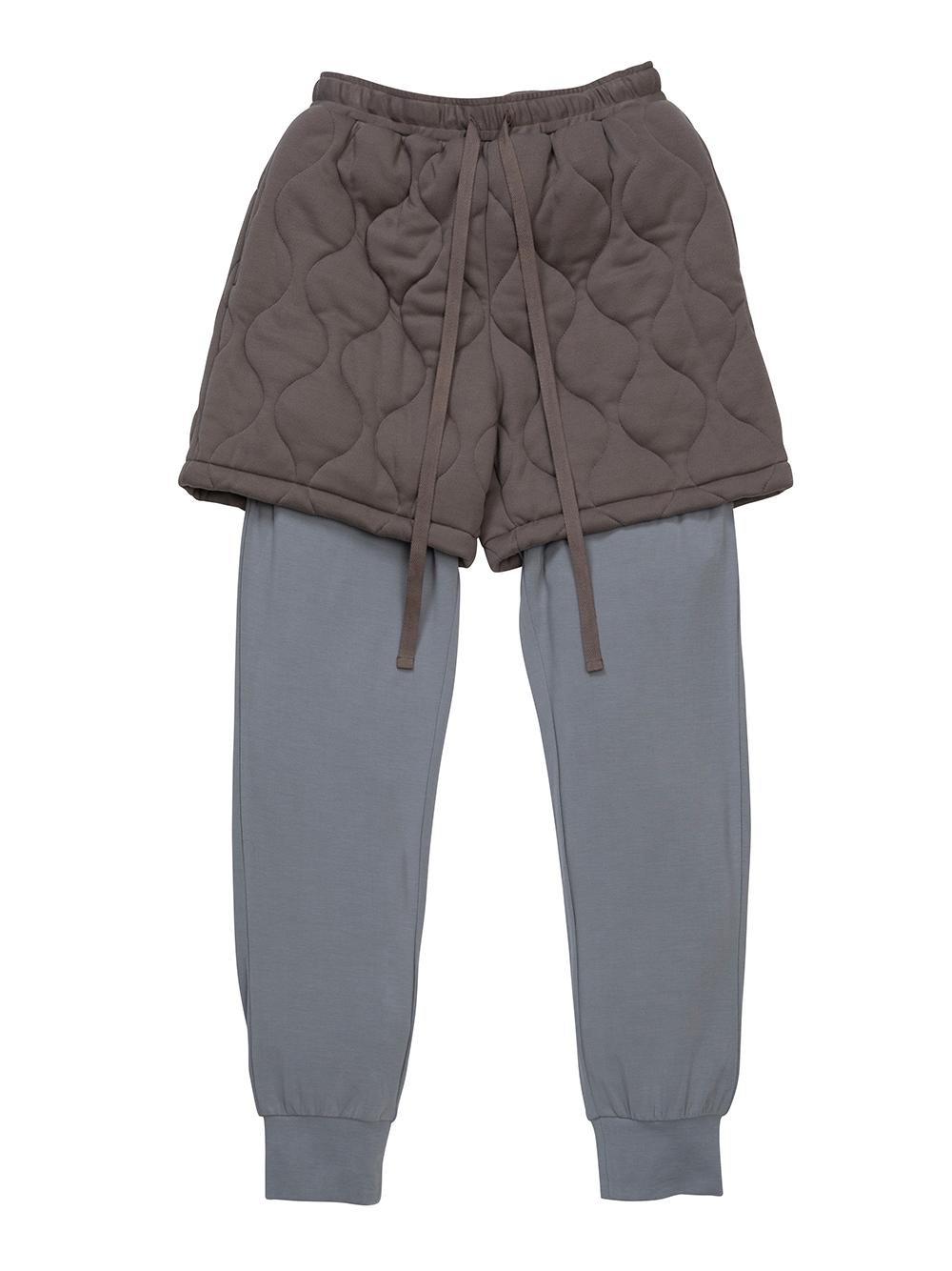 【MISTERGENTLEMAN×HOMME】QUILTED LAYERED PANT(BEG-M)