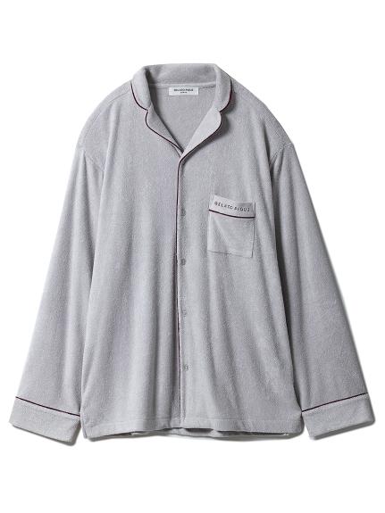 【GELATOPIQUEHOMME】ミニパイルシャツ(GRY-M)