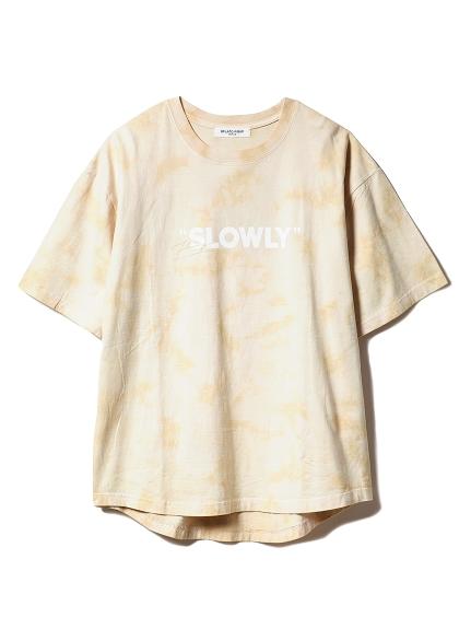 【GELATOPIQUEHOMME】タイダイTシャツ(BEG-M)