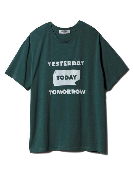 【GELATOPIQUEHOMME】アイスワンポイントTシャツ