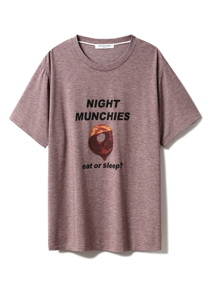【GELATO PIQUE HOMME】NIGHT MUNCHIES Tシャツ