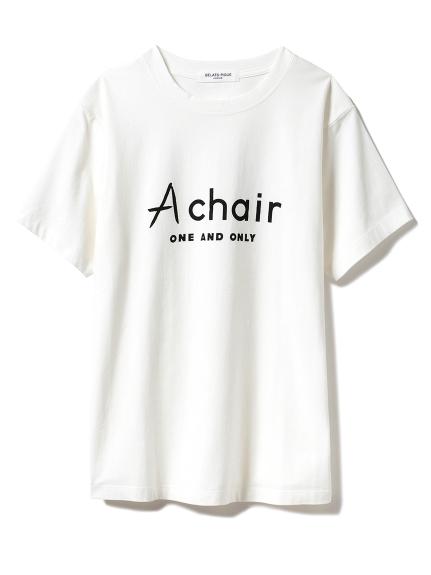 【GELATO PIQUE HOMME】Chair ロゴTシャツ
