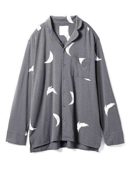 【TSUKI】HOMME 月モチーフシャツ