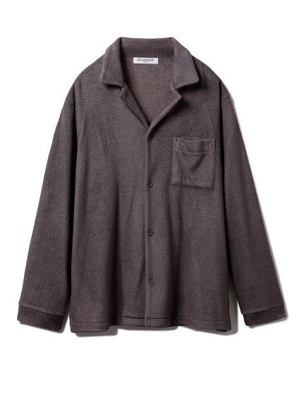 【GELATO PIQUE HOMME】パイルシャツ(CGRY-M)