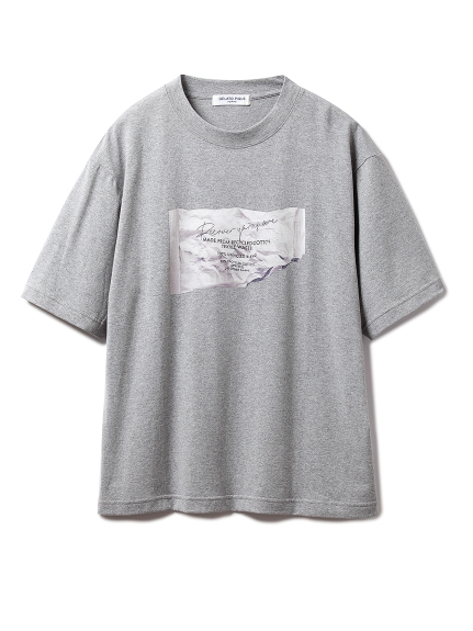 【GELATO PIQUE HOMME】リカバーワンポイントTシャツ