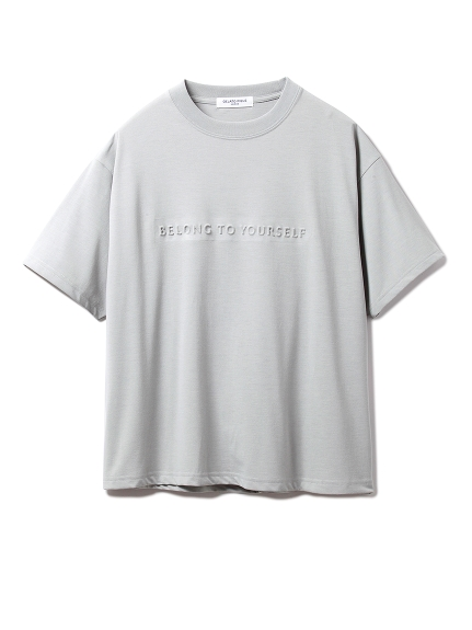 【GELATO PIQUE HOMME】ドライMIXワンポイントTシャツ(GRN-M)