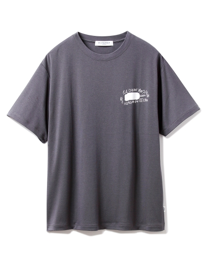 【GELATO PIQUE HOMME】ミルクレーヨンスムースTシャツ(NVY-M)