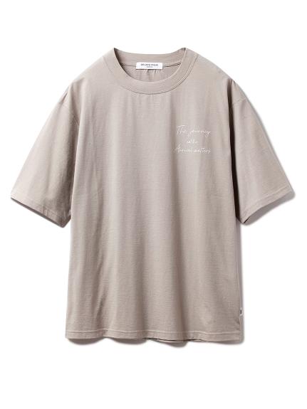 【GELATO PIQUE HOMME】新疆綿オーガニックコットンTシャツ
