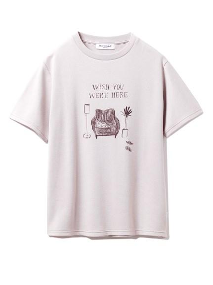 【GELATO PIQUE HOMME】エイトロックワンポイントTシャツ