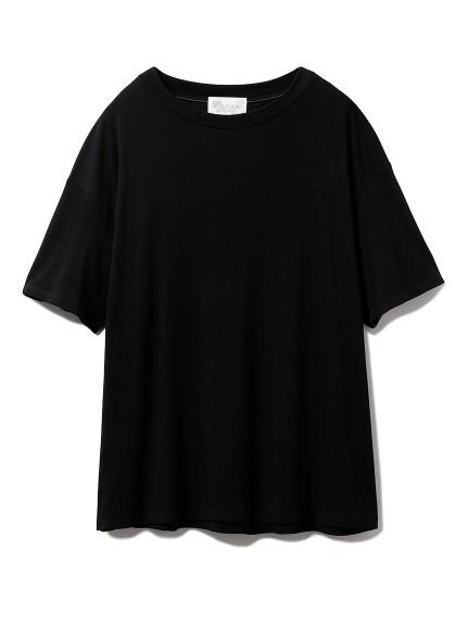 【Joel Robuchon & gelato pique】 HOMME 接結Tシャツ(BLK-M)