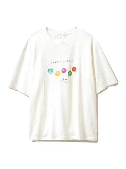 【GELATO PIQUE HOMME】アイスモチーフTシャツ(OWHT-M)