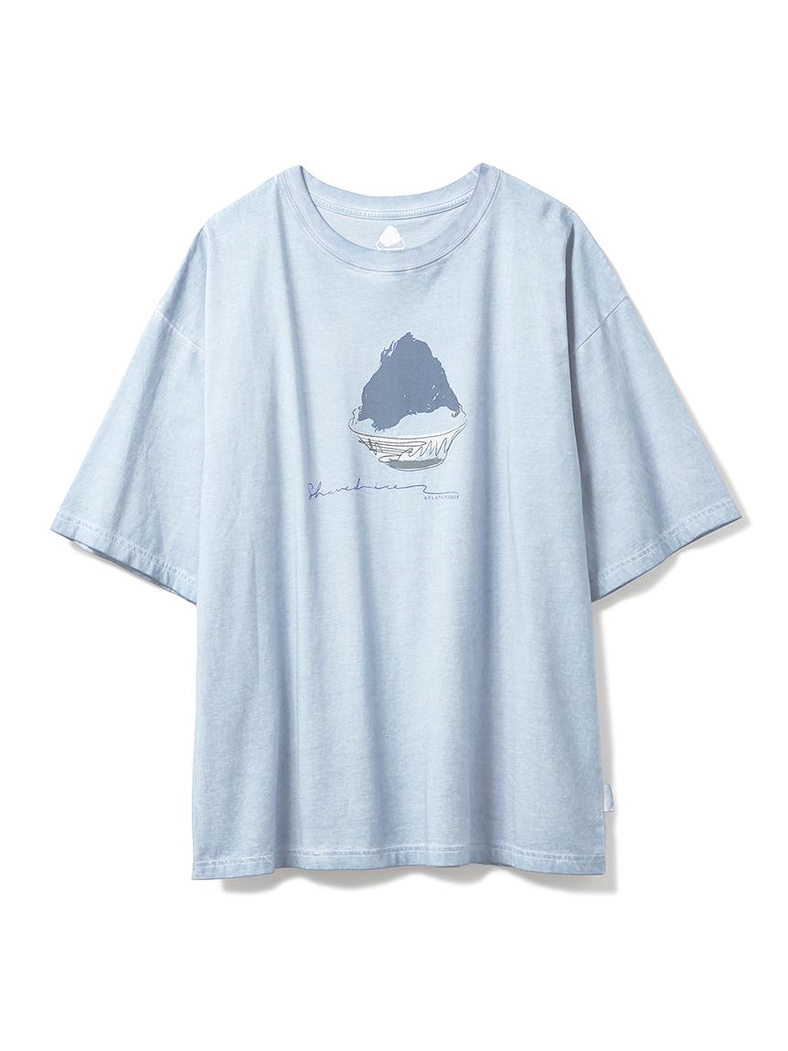 【GELATO PIQUE HOMME】かき氷Tシャツ