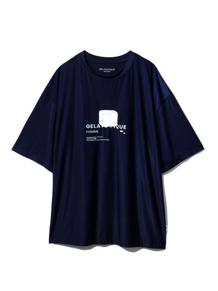 【GELATO PIQUE HOMME】BODY QOOP Tシャツ(NVY-M)