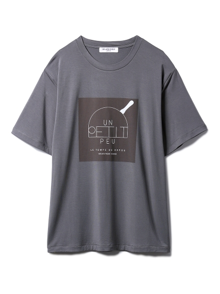 【GELATO PIQUE HOMME】シルクブレンドTシャツ