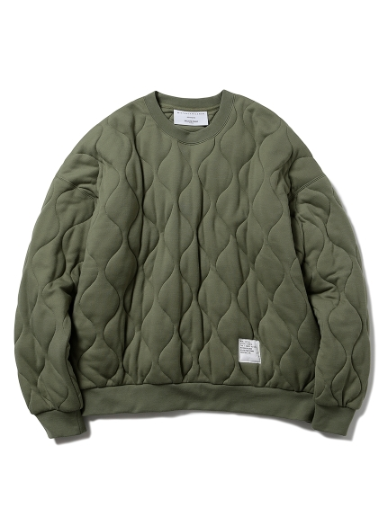 【MISTERGENTLEMAN×HOMME】QUILTED PULLOVER(OLV-M)