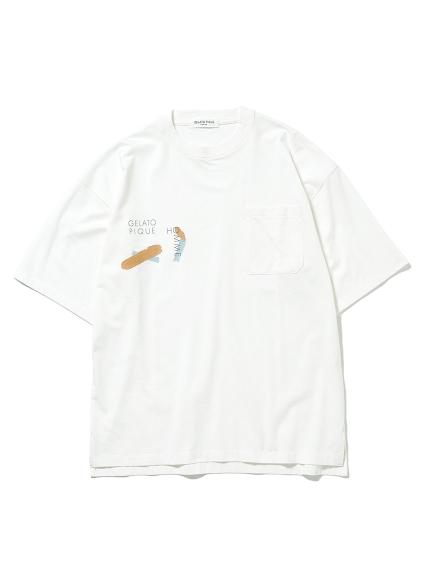 【GELATO PIQUE HOMME】ワンポイントTシャツ