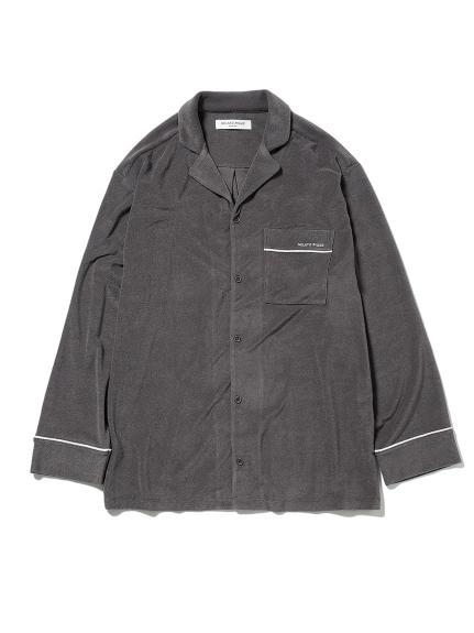 【GELATO PIQUE HOMME】パイルシャツ(DGRY-M)