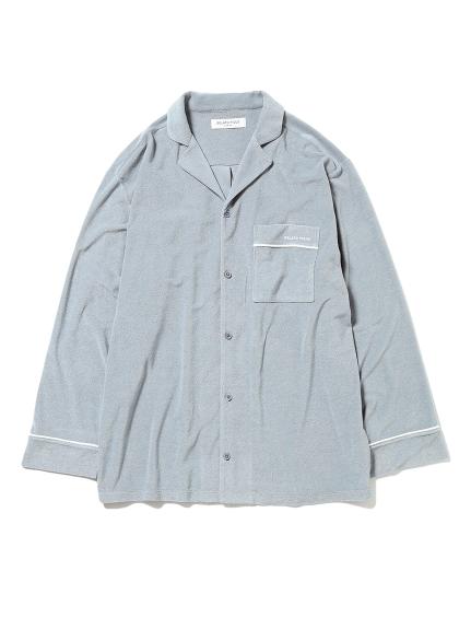【GELATO PIQUE HOMME】パイルシャツ(SKY-M)