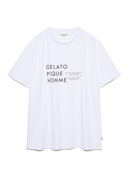 【GELATO PIQUE HOMME】オーガニックコットンロゴTシャツ(OWHT-M)