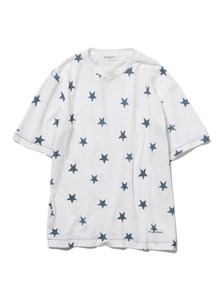 【GELATO PIQUE HOMME】スターモチーフTシャツ(NVY-M)