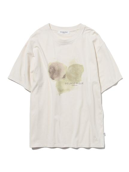 【GELATO PIQUE HOMME】ベイビーズブレスワンポイントロゴTシャツ(CRM-M)