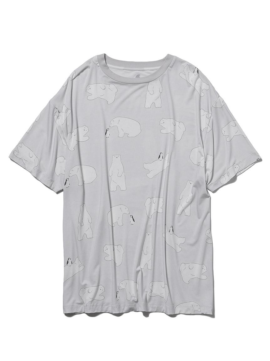 【COOL FAIR】 HOMME シロクマモチーフTシャツ