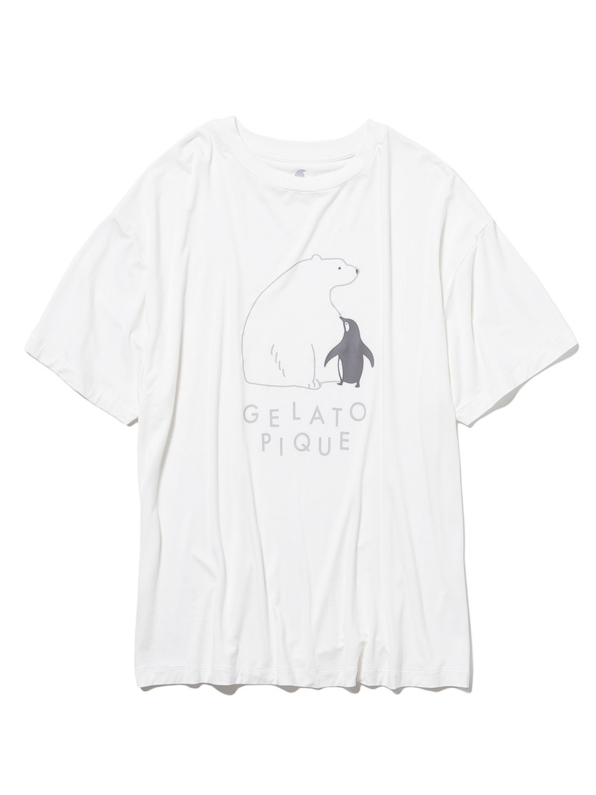 【COOL FAIR】 HOMME シロクマTシャツ(OWHT-M)
