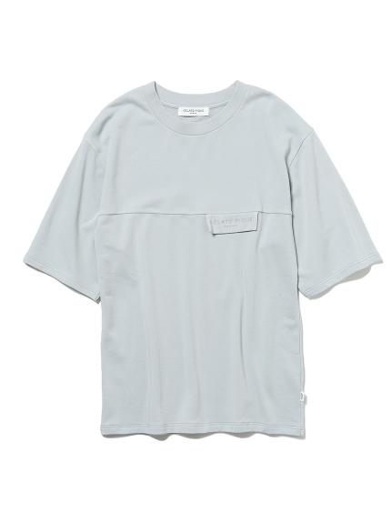 【GELATO PIQUE HOMME】コットンモダールベア裏毛Tシャツ(GRY-M)