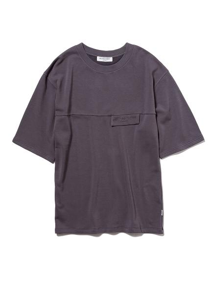 【GELATO PIQUE HOMME】コットンモダールベア裏毛Tシャツ(DGRY-M)