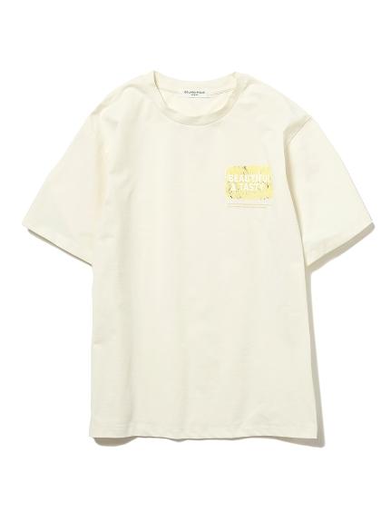 【GELATO PIQUE HOMME】ドライタッチワンポイントTシャツ(IVR-M)